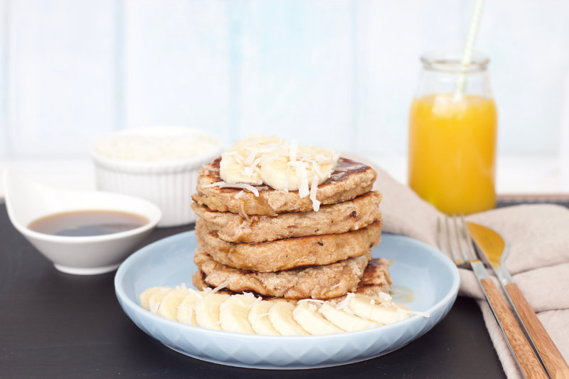 Protein pancakes are not just for the super fit, they are a great breakfast for anyone to get your day started off right.