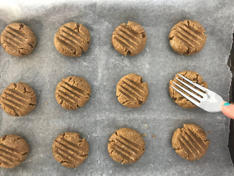 These vegan, gluten free, nut free vanilla protein cookies take only half an hour to make and use juts one bowl. Your protein hit in a cookie.