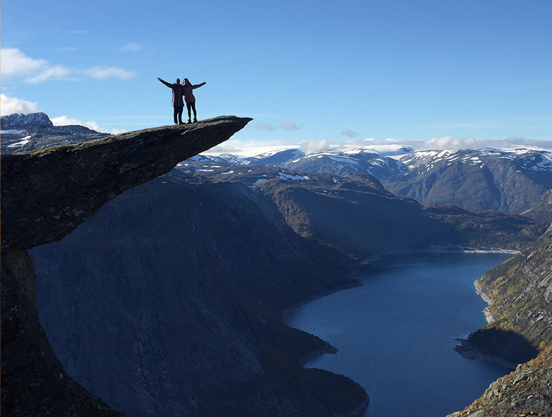 Trolltunga – On top of the world
