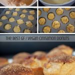 vegan recipes food donuts baking cinnamon gluten free by Sweets and Greens