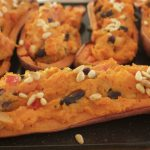 vegan food recipes sweet potato skins fibre tasty delicious by Sweets and Greens