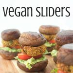 vegan recipes food lunch dinner hamburgers chickpea pattie avocados lettuce tomatoes mushroom buns healthy easy quick by Sweets and Greens