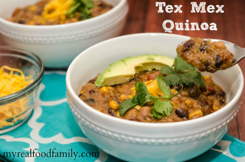 vegan recipes food slow cooker Tex Mex quinoa amazing by Sweets and Greens